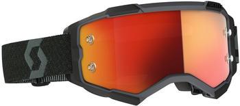 Scott Fury Black/Orange Chrome