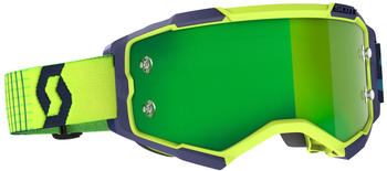 Scott Fury Blue/Yellow/Green Chrone