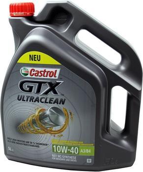 Castrol GTX Ultraclean 10W-40 A3/B4 (5 l)