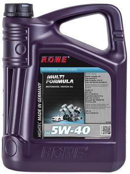 ROWE Hightec Multi Formula SAE 5W-40 (5 l)