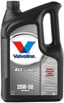 Valvoline ALL CLIMATE 20W-50 (5 l)