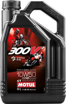 Motul 300V2 4T Factory Line 10W50