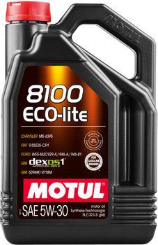 Motul 8100 Eco-lite 5W-30 (5 l)