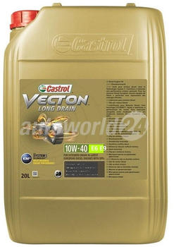 Castrol Vecton Long Drain 10W-40 E6/E9 (20 l)