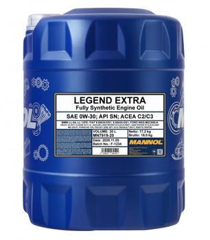 Mannol Legend Extra 7919 SAE 0W-30 20l