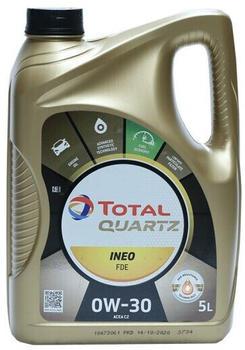 TOTAL Quartz Ineo FDE New 0W-30 5l