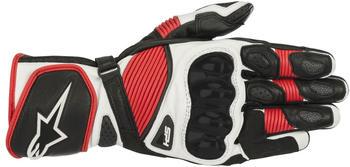 Alpinestars SP-1 v2 Handschuhe schwarz/weiss/rot