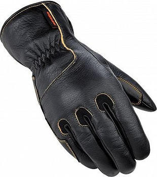 Spidi Deer H2out Leather Gloves Black
