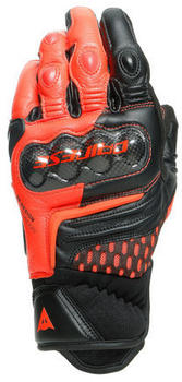 Dainese Carbon 3 Short Gloves Black/Red