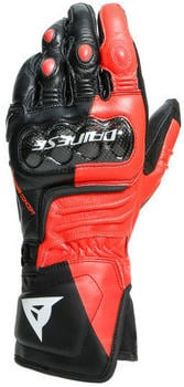 Dainese Carbon 3 Long Gloves Black/Red/White