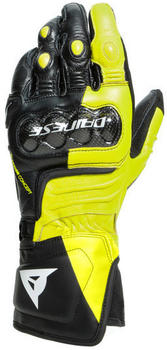 Dainese Carbon 3 Long Gloves Black/Neon Yellow/White