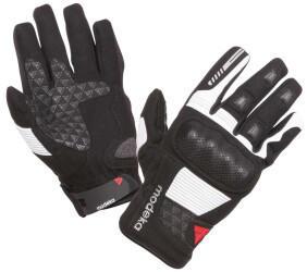 Modeka BikerWear Modeka Fuego Gloves schwarz/hellgrau