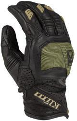 Klim Badlands Aero Pro Handschuhe schwarz/grün