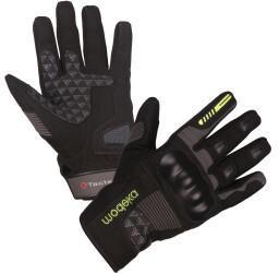 Modeka BikerWear Modeka Fuego Handschuhe schwarz/dunkelgrau