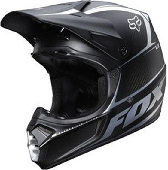 Fox V3 schwarz matt