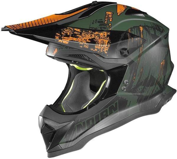 Nolan N53 Cliffhanger grün/orange