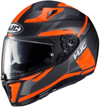 HJC I70 Elim schwarz/orange MC6HSF