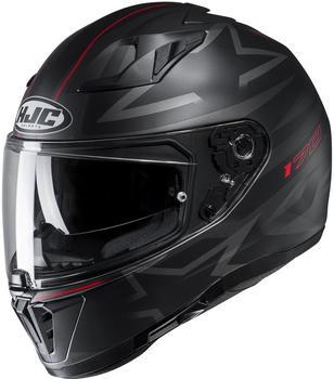 HJC I70 Cravia schwarz schwarz/grau/rot