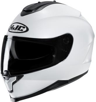 hjc-c-70-metal-pearl-white