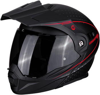 Scorpion ADX-1 Horizon Matt Black Neon Red
