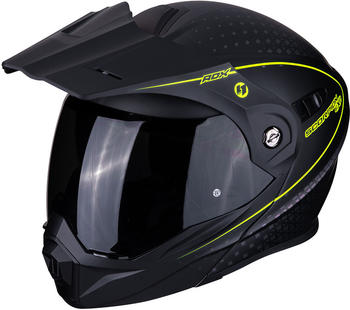 Scorpion ADX-1 Horizon Matt Black Neon Yellow