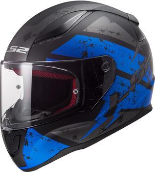 LS2 FF353 Rapid Deadbolt Matt Black blue
