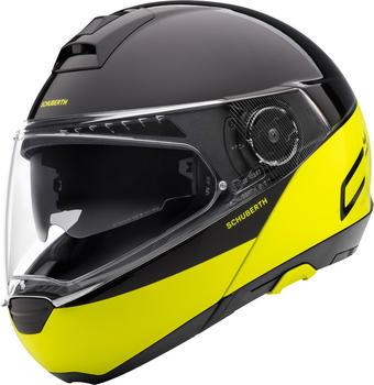 Schuberth C4 Pro Swipe schwarz/gelb
