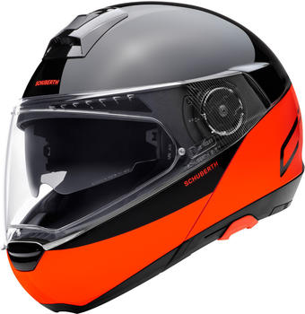 Schuberth C4 Pro Swipe schwarz/orange