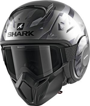 SHARK Street Drak Kanhji matt schwarz/grau