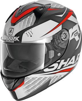 SHARK Ridill Stratom Mat Black/White/Red