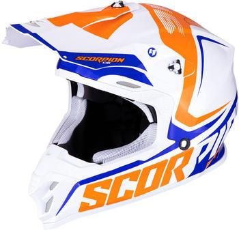 Scorpion VX-16 Air Ernee weiß/orange/blau