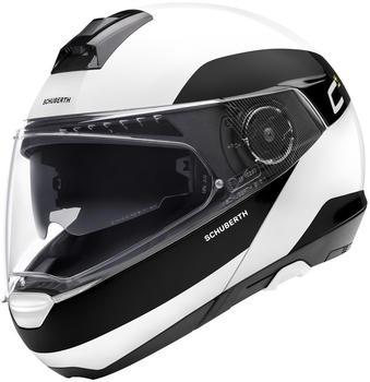 Schuberth C4 Pro weiß/schwarz