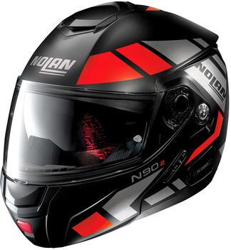 nolan-n90-2-euclid-matt-schwarz-rot