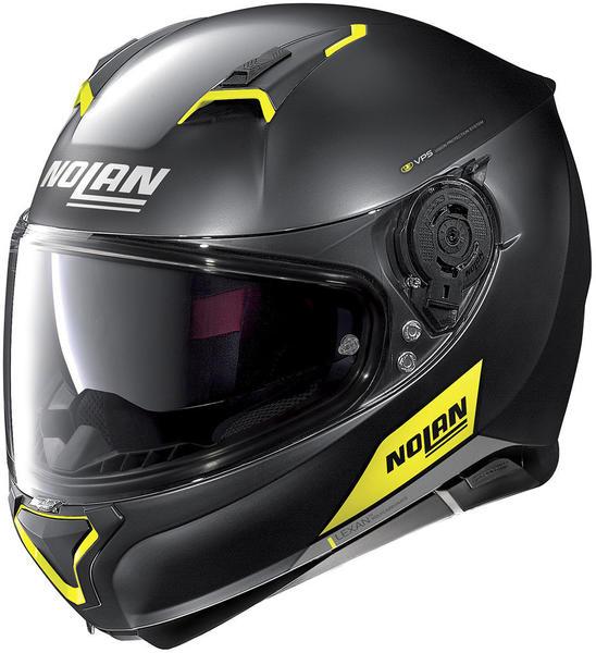 Nolan N87 Emblema schwarz/gelb