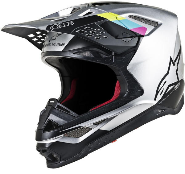 Alpinestars Supertech M8 Conctact Silver/Black