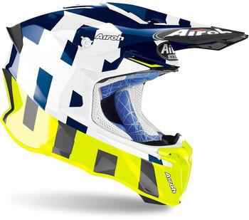Airoh Twist 2.0 Frame Blue Gloss