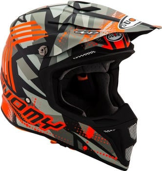suomy-mx-speed-sergeant-matt-grey-orange-fluo