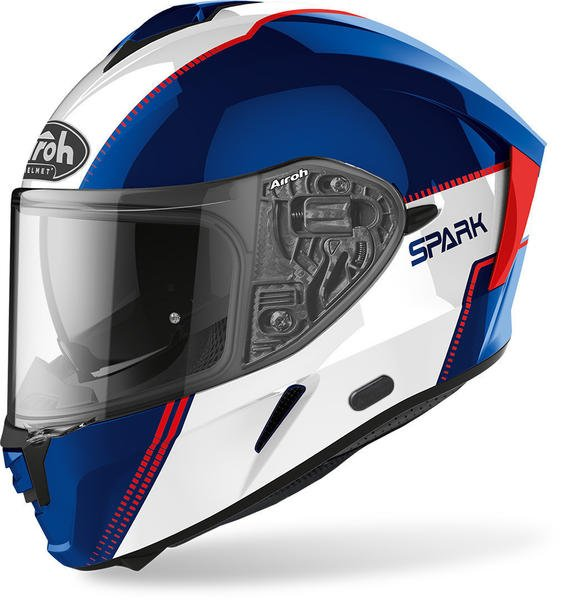 Airoh Spark Blue/Red Gloss