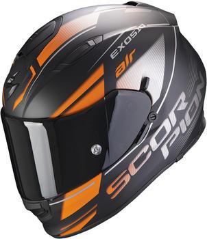 Scorpion Exo-510 Air Ferrum Matt Black/Orange/Silver