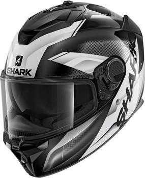 shark-spartan-gt-elgen-matt-schwarz-weiss