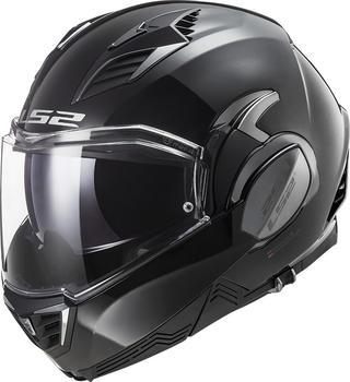 LS2 FF900 Valiant II Solid Black
