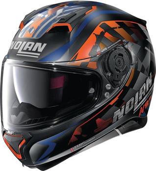 Nolan N87 Venator N-Com 91 Orange/Blu