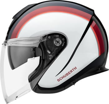 schuberth-m1-pro-outline-red