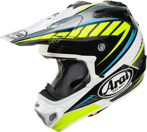 Arai MX-V Rumble Yellow/Blue/White