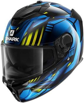 shark-spartan-gt-carbon-replikan-black-chrome-blue