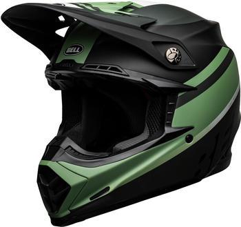 Bell MOTO-9 MIPS Prophecy matt schwarz/dunkelgrün
