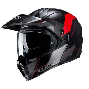 hjc-c80-rox-matt-schwarz-grau-rot