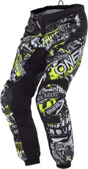O'Neal Element Youth Attack Black/Neon Yellow
