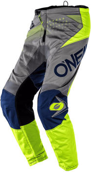 O'Neal Element Youth Factor Gray/Blue/Neon Yellow