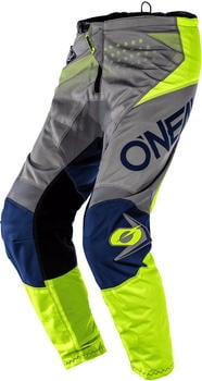 O'Neal Element Factor Gray/Blue/Neon Yellow